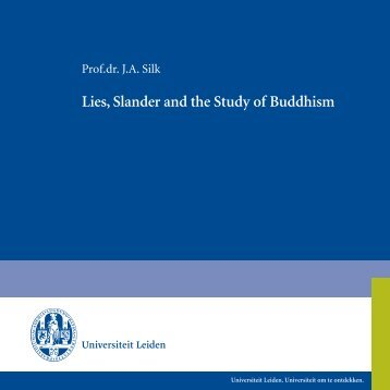 Lies, Slander and the Study of Buddhism - Buddhism & Social Justice