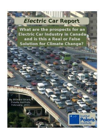 Electric Car Report - Polaris Institute