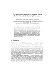 Two applications of Independent Component Analysis - ResearchGate
