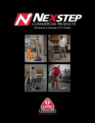 to view this brochure from Nexstep Commercial Products - NFMT