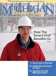 How The 'Smart Grid' Benefits Us - Michigan Country Lines Magazine