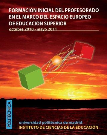 Acceso al programa - ICE - Universidad Politécnica de Madrid