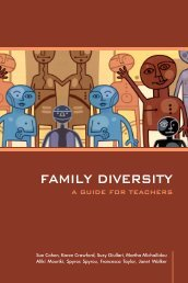 family diversity - Center for the Study of Childhood and Adolescence
