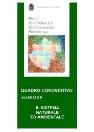QUADRO CONOSCITIVO - Provincia di Forlì-Cesena