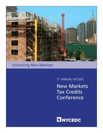 2012 Unlocking New Markets Conference Booklet - NYCEDC