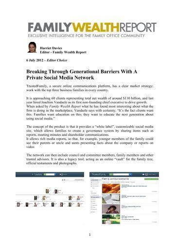 Social media a barrier