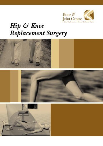 Hip & Knee Replacement Surgery - Sunway Group