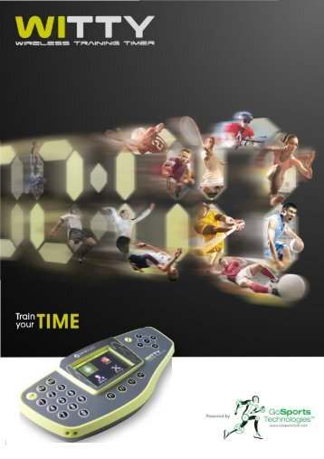 Witty Timing System Brochure - GoSportsTech.com