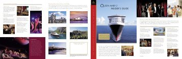Download the Queen Mary 2 Insiders guide with deck plan (pdf)