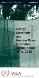 Energy, electricity and nuclear power estimates - IAEA Publications ...