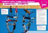 gymnastics - acrobatic - School Games