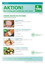 aktion! mit schneller lieferung frei haus - TIFA Service GmbH