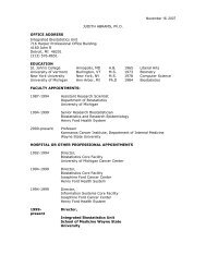 Judith abrams, ph.d. - Division of Hematology/Oncology - Wayne ...