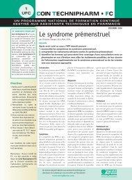 Le syndrome prémenstruel - Profession Santé