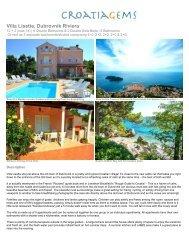 Villa Lisette, Dubrovnik Riviera - CroatiaGems