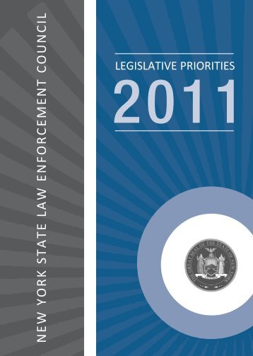 2011 Legislative Priorities Handbook - New York State Law ...