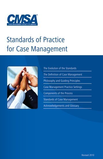 Standards of Practice for Case Management... practice as