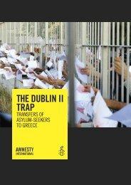 The Dublin II trap - Amnesty International