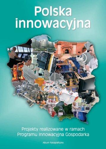 Album fotograficzny - Program Innowacyjna Gospodarka