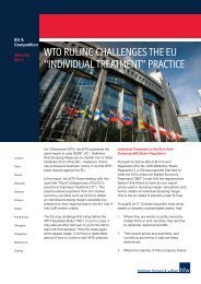 """wto ruling challenges the eu """"individual treatment"""" practice - HFW"""