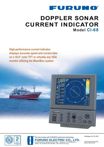 DOPPLER SONAR CURRENT INDICATOR - PSI Company