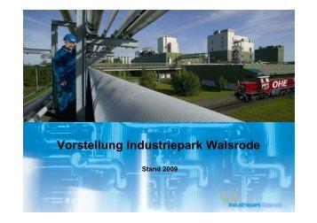 Vorstellung Industriepark Walsrode - Industriepark Walsrode, Dow ...