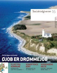 Socialrådgiveren nr. 16-2007 - Dansk Socialrådgiverforening