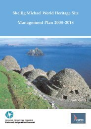 Skellig Michael World Heritage Site Management Plan 2008-2018