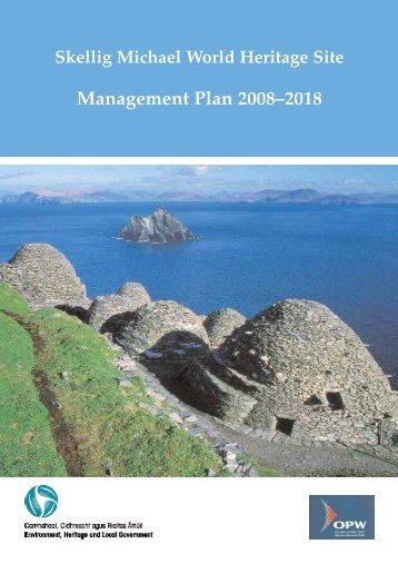 Skellig Michael World Heritage Site Management Plan 2008-2018