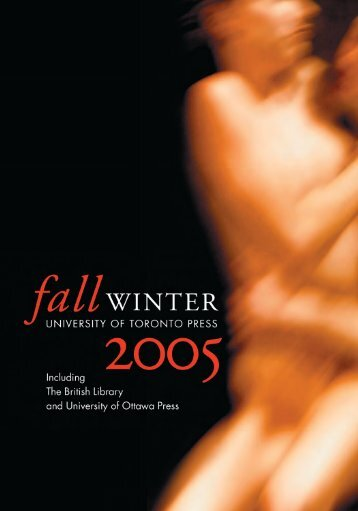 Fall/Winter 2005 - University of Toronto Press Publishing