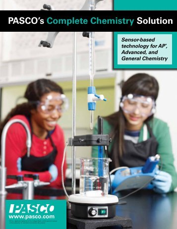 PASCO's Complete Chemistry Solution - Products - PASCO Scientific