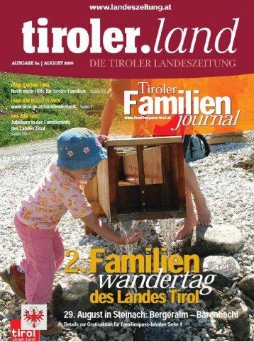 tag! wander - Die Tiroler Landeszeitung