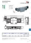 Schwerlast-Lineareinheiten D-Line Heavy duty linear units D-Line - Page 5