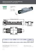 Schwerlast-Lineareinheiten D-Line Heavy duty linear units D-Line - Page 6