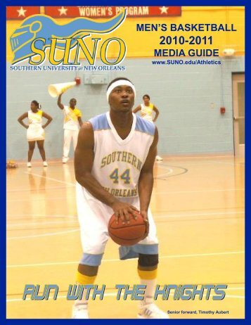MEN'S BASKETBALL 2010-2011 - Southern University New Orleans