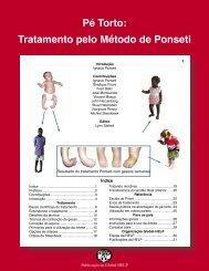 Pé torto: tratamento pelo método Ponseti - Global HELP