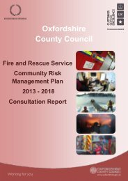 Annual Performance Report - Oxfordshire County Council
