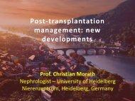 Post-transplantation management - Cardiovasculaire Geneeskunde