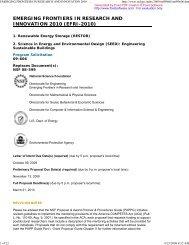 the NSF-09-606 solicitation - Florida Energy Systems Consortium