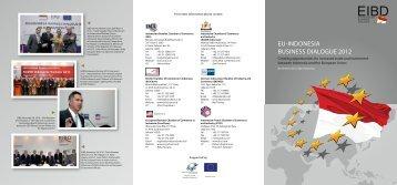 EU-INDoNESIA BUSINESS DIAloGUE 2012