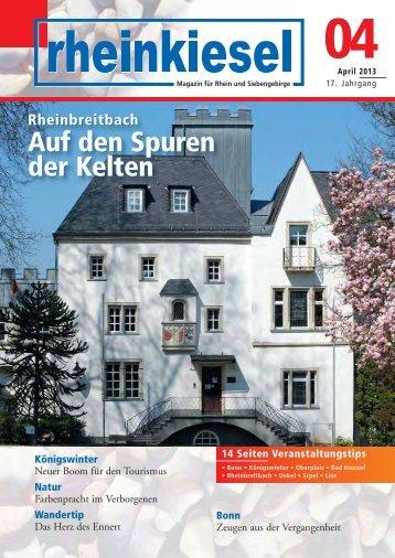 Auf den Spuren der Kelten Auf den Spuren der Kelten - Rheinkiesel