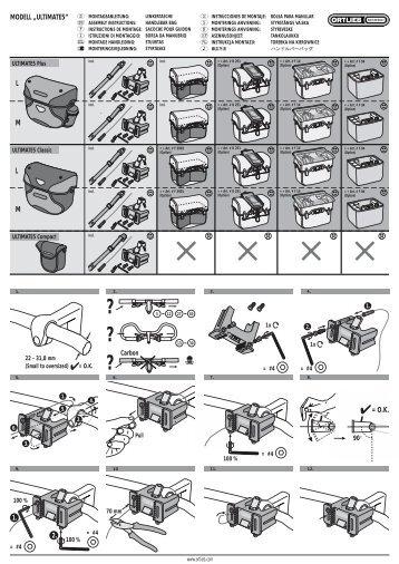 Istruzioni - Ortlieb