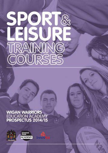 Wigan Warriors Education Academy 20142015 Prospectus