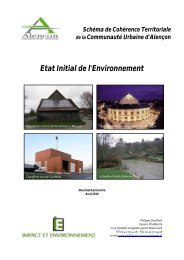 Etat Initial de l'Environnement - Alençon