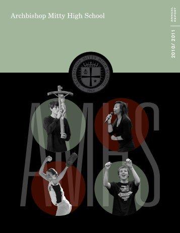 Annual Report - Archbishop Mitty High School