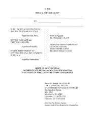 amicus brief filed March 1, 2013. - Benesch