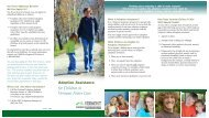 Adoption Assistance for Children in Vermont Foster Care