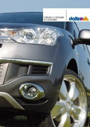 CITROEN C-CROSSER ACCESSORIES - Auto-Stieger
