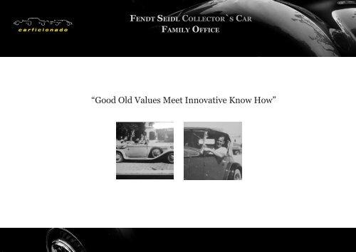 Collector Car Values >> Fendt Seidl Collector S Car Family Office Carficionado