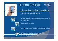 BLUECALL PHONE Wat? - Kennisplein